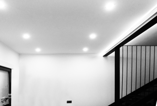 Carpintería y escalera