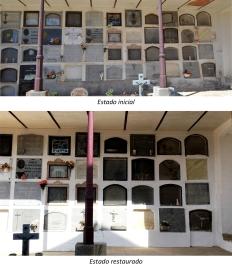 Restauración fachada galería