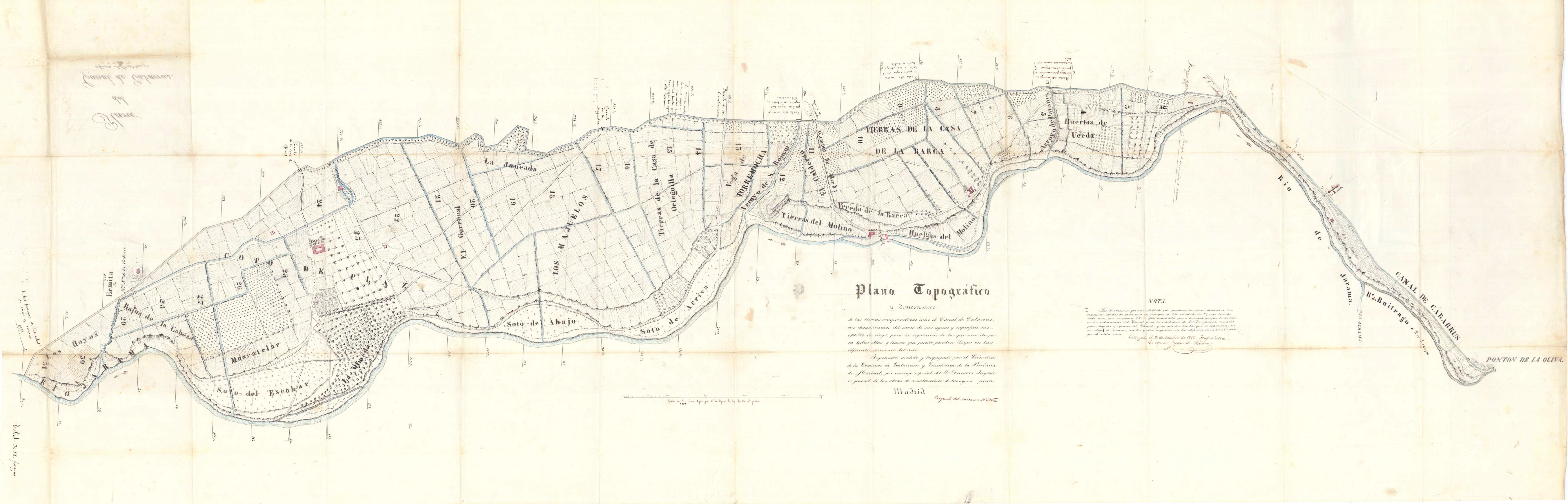 12_Plano topográfico Vega Uceda 1851 pp285